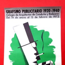 Carteles Publicitarios: GRAFISMO PUBLICITARIO 1920-1940. Lote 187081636