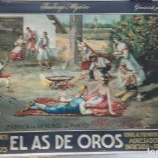 Carteles Publicitarios: CARTEL PUBLICITARIO DE ALMANAQUE EL AS DE OROS , CALLE ADRESADORS 2 VALENCIA ... .. Lote 187093618