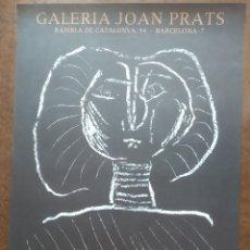 Affissi Pubblicitari: PICASSO 1977 POSTER GALERÍA JOAN PRATS BARCELONA. Lote 189482803