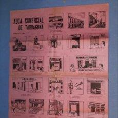 Carteles Publicitarios: ANTIGUO AUCA COMERCIAL DE TARRAGONA ORIGINAL TORRES & VIRGILI / X. SOLA. Lote 190119536