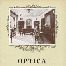 Carteles Publicitarios: CARTEL PUBLICIDAD OPTICA ESTEBAN Y MIRÓ. 40X29,5.. Lote 191476598