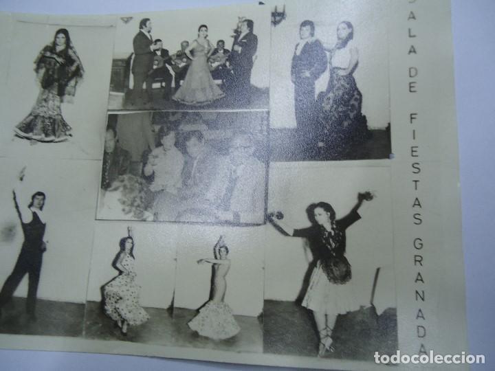 Carteles Publicitarios: FOTOGRAFIA PUBLICIDAD JARDINES NEPTUNO SALA DE FIESTAS GRANADA 1975 MIDE 12,5 X 17,5 cm. BIEN CONSER - Foto 3 - 191644456
