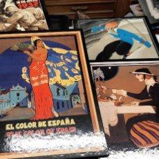 Carteles Publicitarios: COLECCION 4 LIBROS CARTELES PUBLICIDAD FERIAS GUERRA CIVIL JORDI CARULLA GRAN CALIDAD. Lote 192488265