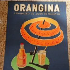 Cartazes Publicitários: CARTEL ORANGINA, DISEÑO DE VILLEMOT, GRAN TAMAÑO, VED FOTOS. Lote 192649685