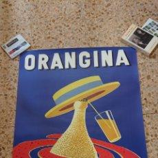 Cartazes Publicitários: CARTEL ORANGINA, DISEÑO DE VILLEMOT, GRAN TAMAÑO, ORIGINAL, IDEAL DECORACION. Lote 212953710
