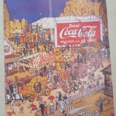 Carteles Publicitarios: CARTEL GRAN FORMATO DE COCA COLA . EL CIRCO. Lote 193333393