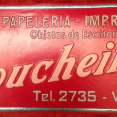 Carteles Publicitarios: CARTELES PUBLICITARIOS SOUCHEIRON (49 X 21 CM) + DAGA (36 X 25 CM). Lote 193817215