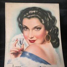 Carteles Publicitarios: ANTIGUO CARTEL PUBLICITARIO EN CARTON. Lote 195271052