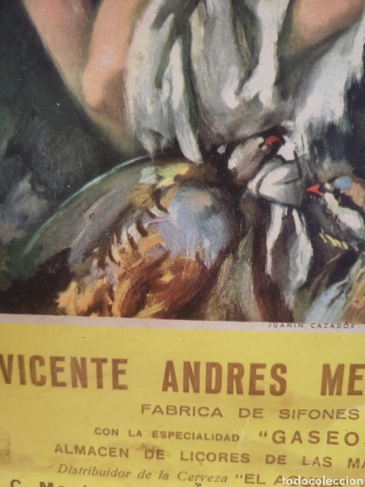 Carteles Publicitarios: CARTEL PUBLICIDAD VICENTE ANDRES MENGUAL ( DEVESA) SIFONES Y GASEOSAS, ONTENIENTE, 23X35CM - Foto 3 - 196798087