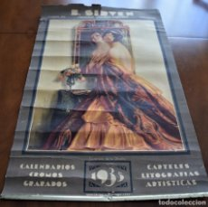 Carteles Publicitarios: CARTEL G CAMPS - B SIRVEN CALENDARIOS CROMOS GRABADOS CARTELES AÑO 1935 - ORIGINAL DE ÉPOCA. Lote 199230413