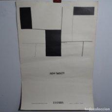 Carteles Publicitarios: CARTEL DE ANTONI MARTOS.1973-74.LA GABIRA.. Lote 199644391
