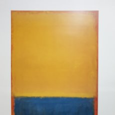 Cartazes Publicitários: ROTHKO CHRISTOPHER YELLOW AND BLUE 1955. Lote 214658737