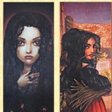 Affiches Publicitaires: CARTEL PUBLICITARIO DEL COMIC CARMEN DEL ILUSTRADOR BENJAMÍN LACOMBE 85X25 (ANVERSO Y REVERSO). Lote 200726173
