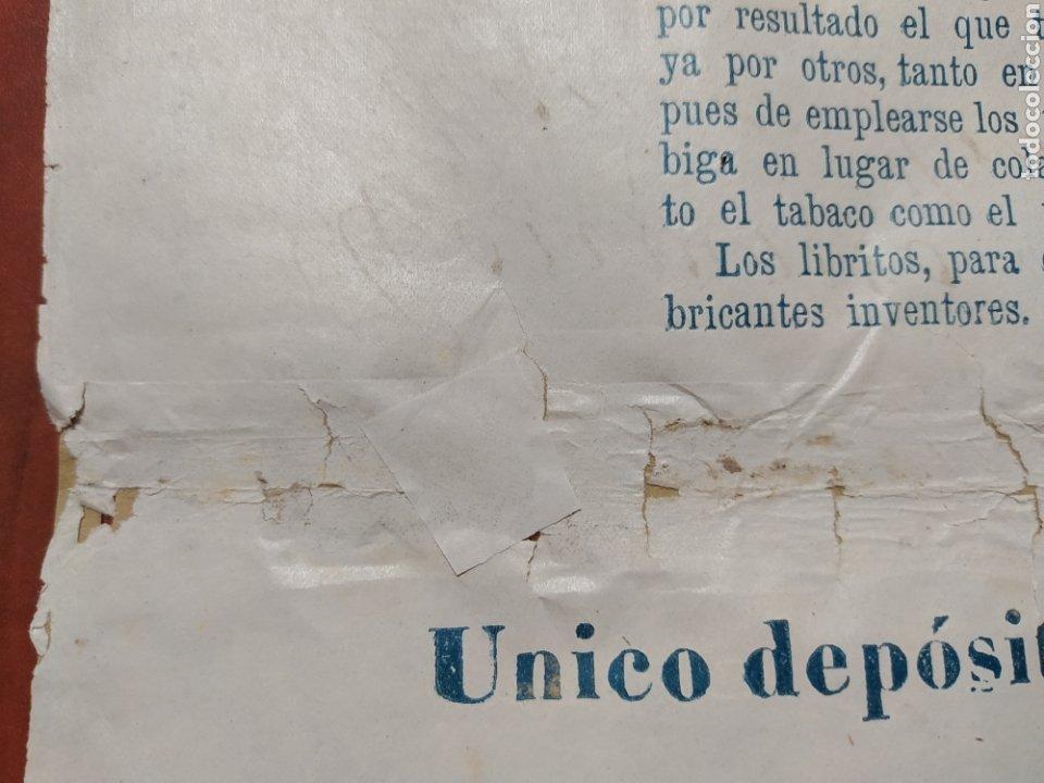 Carteles Publicitarios: Papel de fumar , Vicente Terol e Hijos Alcoy. - Foto 8 - 202365720