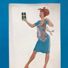 Carteles Publicitarios: PUBLICIDAD TURPOL - LAVADO PERFECTO - AÑOS 1950-60. Lote 202537121