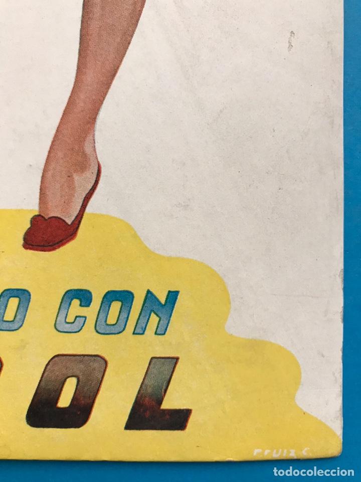 Carteles Publicitarios: PUBLICIDAD TURPOL - LAVADO PERFECTO - AÑOS 1950-60 - Foto 3 - 202537121