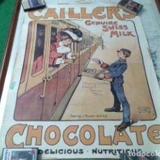 Carteles Publicitarios: CARTEL POSTER DE LOS 60 (CHOCOLATE CAILLER´S)ALF - COOKE - QUEEN´S PRINTER ( LEEDS ) MADE IN ENGLAND. Lote 190100233