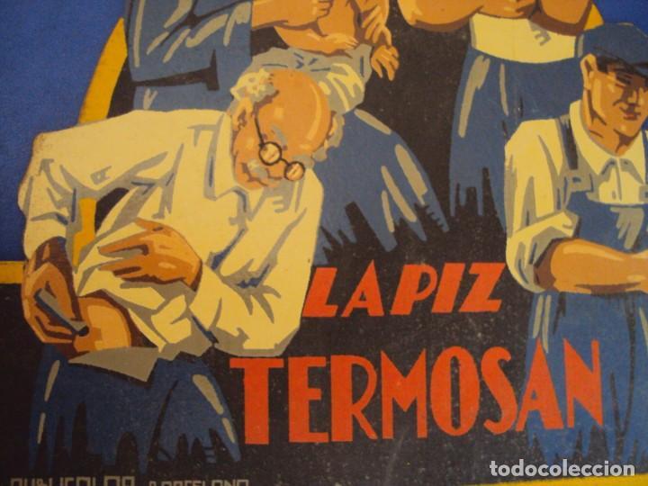 Carteles Publicitarios: (PUB-180123)CARTEL - DISPLAY - EXPOSITOR - LAPIZ TERMOSAN - Foto 2 - 206411218