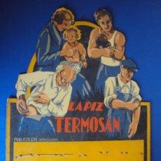 Carteles Publicitarios: (PUB-180123)CARTEL - DISPLAY - EXPOSITOR - LAPIZ TERMOSAN. Lote 206411218