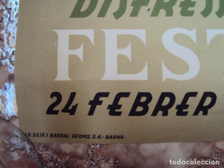 Carteles Publicitarios: (CAR-200523)Ferran Teixidor. Circol Artístic. Ball de Disfresses. Festa de Bacus. 24 febrer, 1936. - Foto 6 - 207183036