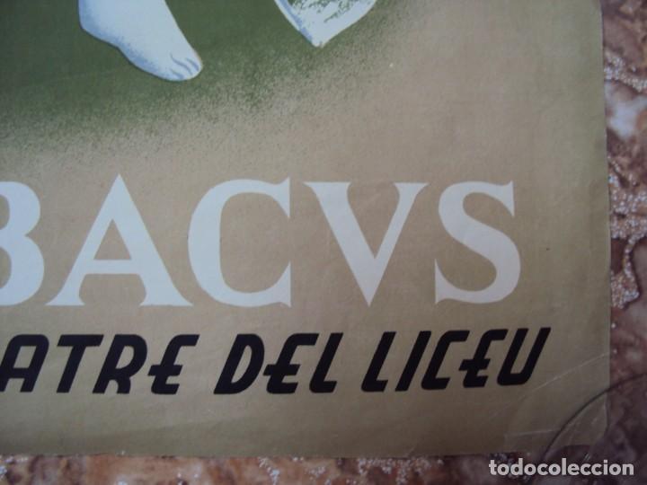 Carteles Publicitarios: (CAR-200523)Ferran Teixidor. Circol Artístic. Ball de Disfresses. Festa de Bacus. 24 febrer, 1936. - Foto 7 - 207183036