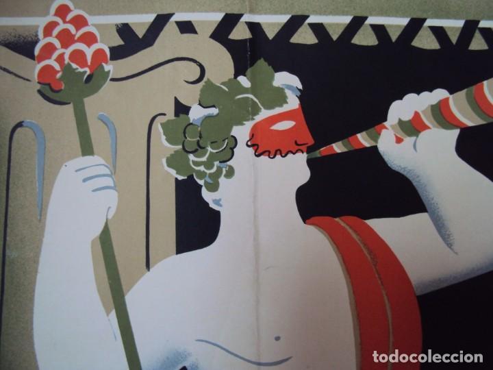 Carteles Publicitarios: (CAR-200523)Ferran Teixidor. Circol Artístic. Ball de Disfresses. Festa de Bacus. 24 febrer, 1936. - Foto 9 - 207183036