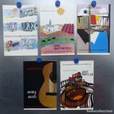 Carteles Publicitarios: NUEVA YORK - FERIA MUNDIAL - AÑO 1964-1965 - 5 CARTELES, VER FOTOS ADICIONALES. Lote 208493238