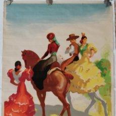 Carteles Publicitarios: CARTEL TURISMO ESPAÑOL MORRELL 1940.. Lote 209966273