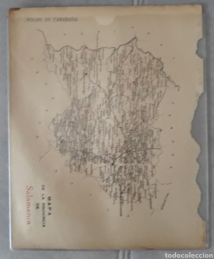 Carteles Publicitarios: ANTIGUO CARTEL PUBLICITARIO DE SALAMANCA INSECTICIDAS CHAMORRO - Foto 2 - 210180581