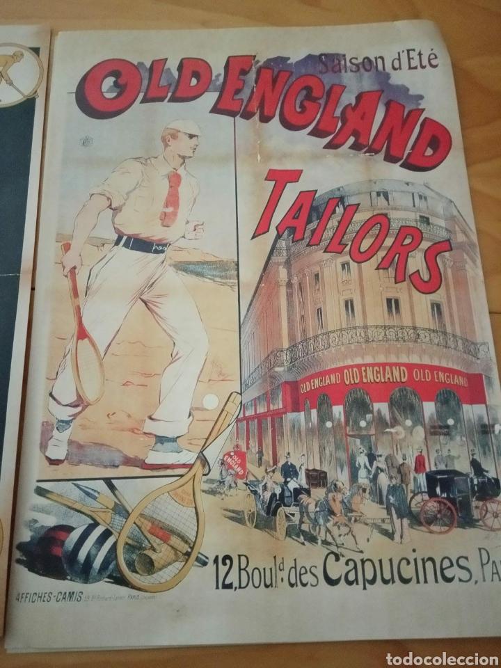 Carteles Publicitarios: Lote de 4 láminas publicidad antigua - Foto 4 - 210347721