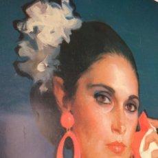 Carteles Publicitarios: CARTEL FERIA DE MALAGA AÑO 1988 DE REBELLO DE TORO GRAN TAMAÑO 95X175 APROX.. Lote 211595967