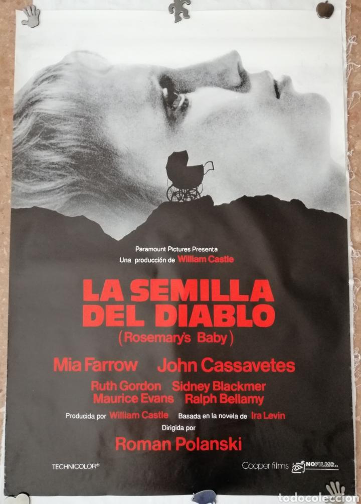 Carteles Publicitarios: La Semilla del Diablo Poster. - Foto 4 - 212644315