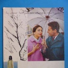 Affiches Publicitaires: DISPLAY PUBLICIDAD - COLONIA PERFUME AGUA LAVANDA, A. PUIG & CIA. - AÑOS 1960. Lote 212969676
