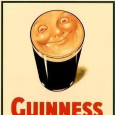 Carteles Publicitarios: GUINNESS - AS USUAL - IS GOOD FOR YOU - JOHN GILROY - Nº 16 IN A SERIES FROM THE ORIGINAL -1941. Lote 215482111