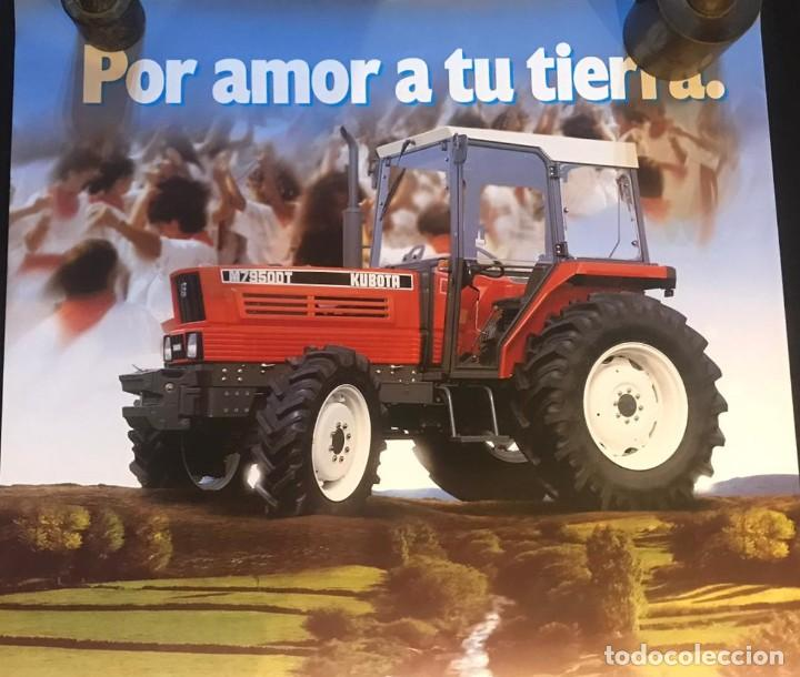 Carteles Publicitarios: EBRO KUBATA M79500T CARTEL POR AMOR A TU TIERRA - Foto 5 - 216934757