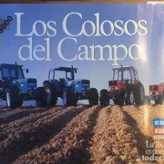 Carteles Publicitarios: CARTEL EBRO KUBOTA SERIE 8000 LOS COLOSOS DEL CAMPO. Lote 217050388