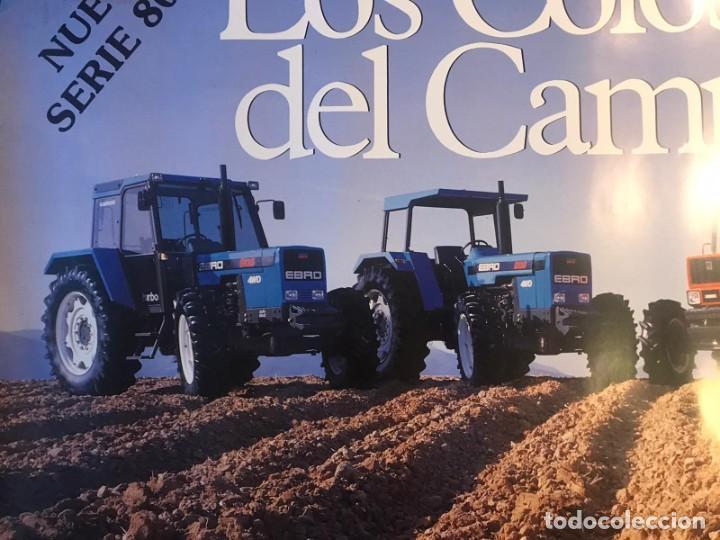 Carteles Publicitarios: CARTEL EBRO KUBOTA SERIE 8000 LOS COLOSOS DEL CAMPO - Foto 5 - 217050388