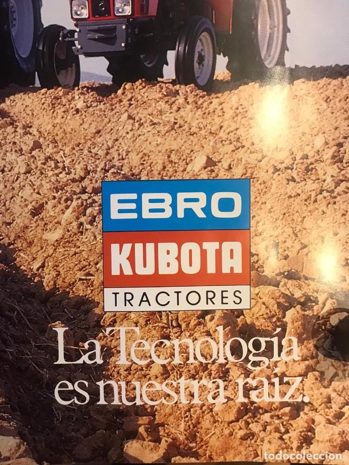 Carteles Publicitarios: CARTEL EBRO KUBOTA SERIE 8000 LOS COLOSOS DEL CAMPO - Foto 8 - 217050388