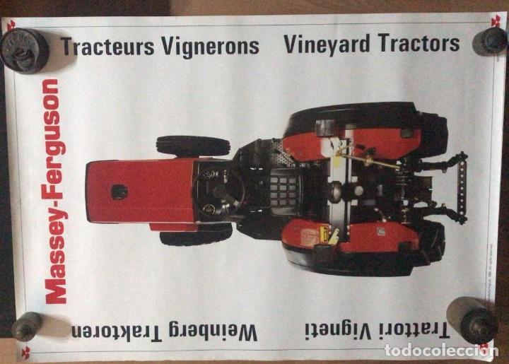 Carteles Publicitarios: MASSEY-FERGUSON TRACTORES PARA VIÑAS TRACTEURS VIGNERONS, VINEYARD TRACTORS - Foto 3 - 217052658