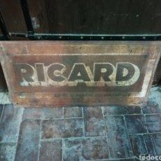 Carteles Publicitarios: GRAN CHAPA PUBLICIDAD RICARD. Lote 217653972