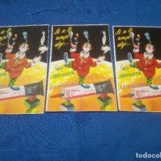 Carteles Publicitarios: PUBLICIDAD PEGAMENTO IMEDIO SI SE LE ROMPE ALGO, NO IMPORTA EL REMEDIO PEGAMENTO IMEDIO 9,5X14,5 CM. Lote 218741120