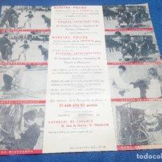 Carteles Publicitarios: DOS CARTELES COMPAÑIA HISPANO AMERICANA DE SEGUROS Y REASEGUROS, SEGURO POPULAR DEL CICLISTA AÑOS 30. Lote 218745432