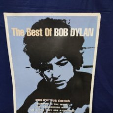 Affiches Publicitaires: CARTEL A DOS CARAS BEST BOB DYLAN 50 X 70 CM. Lote 219369748