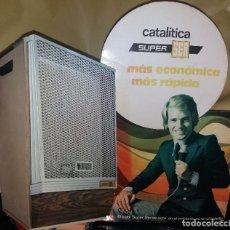 Affiches Publicitaires: ANTIGUO DISPLAY * ESTUFA CATALÍTICA SUPER SER * EN CARTÓN - CON SOPORTE SOBREMESA. Lote 219632670