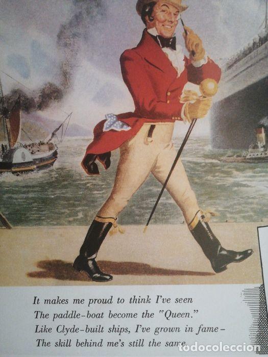 Carteles Publicitarios: JOHNNIE WALKER - Cartel Publicidad Clásico RICORDI - Década de 1950 Diseño de póster - 1999 - Foto 4 - 221160165