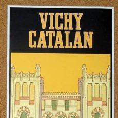 Carteles Publicitarios: CARTEL VICHY CATALAN AUTENTICITAT. Lote 224223160