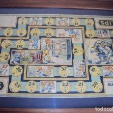 Carteles Publicitarios: (CART-201101)ANTIGUO CARTEL PUBLICITARIO ARCAS PARA CAUDALES PUERTAS DE SEGURIDAD LIPS (MADRID). Lote 224423093