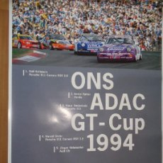 Carteles Publicitarios: RARO CARTEL / POSTER ORIGINAL DE PORSCHE. ONS ADAC GT - CUP 1994. Lote 224753937