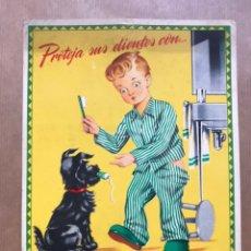 Carteles Publicitarios: DISPLAY DENTICLOR - CREMA DENTAL CIENTIFICA, AÑOS 1950. Lote 225487325