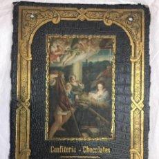 Carteles Publicitarios: CONFITERIA - CHOCOLATES - SUCESORES DE HIJOS DE ZURICALDAY - BILBAO - 24,5X16CM. Lote 226831350